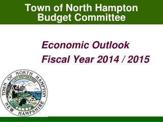 Town of North Hampton Budget Committee