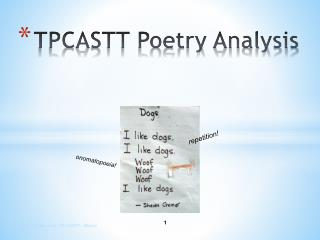 TPCASTT Poetry Analysis