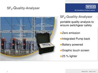SF 6 - Q uality-Analyser