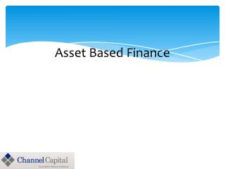 Asset Based Finance  Case Studies 1