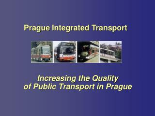 Prague Integrated Transport