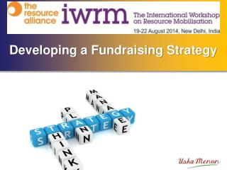 Developing a Fundraising Strategy
