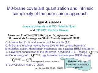 M0-brane covariant quantization and intrinsic complexity of the pure spinor approach