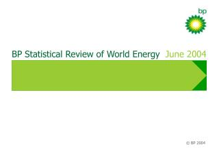 BP Statistical Review of World Energy   June 2004