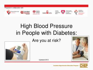 High Blood Pressure  in People with Diabetes:
