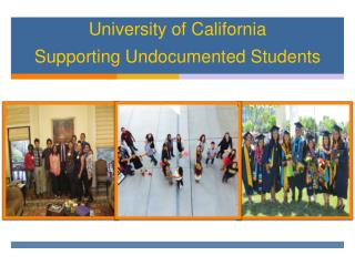 University of  California Supporting Undocumented Students