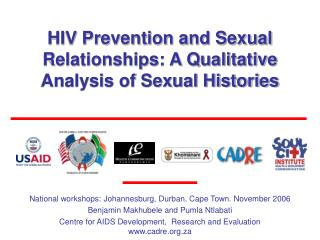 HIV Prevention and Sexual Relationships: A Qualitative Analysis of Sexual Histories