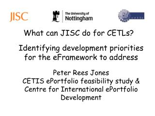 What can JISC do for CETLs?