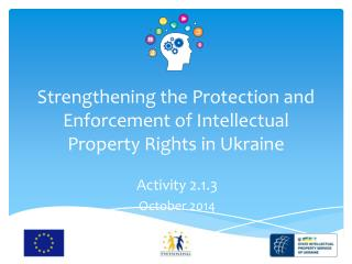 Strengthening the Protection and Enforcement of Intellectual Property Rights in Ukraine