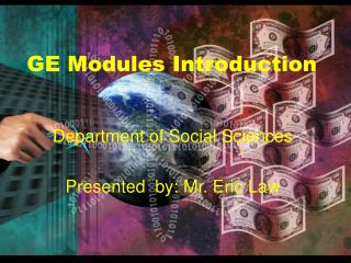 GE Modules Introduction