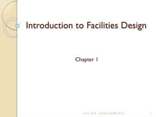 Introduction to Facilities Design
