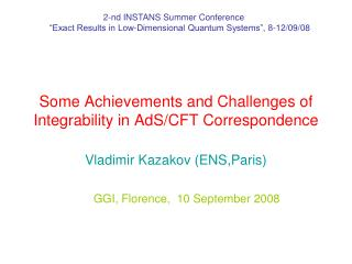 Some Achievements and Challenges of Integrability in AdS/CFT Correspondence