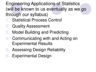 Statistical Process Control Quality Assessment Model Building and Predicting