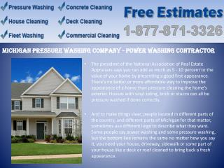 Power washing rochester hills