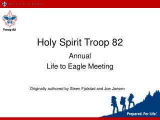 Holy Spirit Troop 82