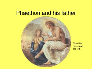 Phaethon and his father