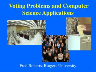 Voting Problems and Computer Science Applications