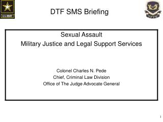 DTF SMS Briefing