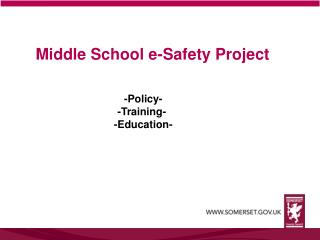 Middle School e-Safety Project