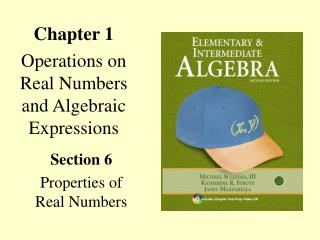 Chapter 1 Operations on Real Numbers and Algebraic Expressions