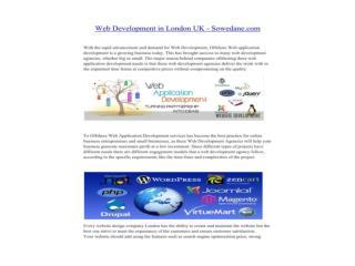 Web Development in London UK - Sowedane.com