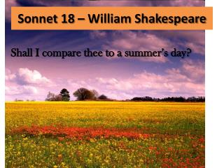 an analysis of william shakespeares sonnet 130 Summary sonnet 130 is a parody of the dark lady, who falls too obviously short of fashionable beauty to be extolled in print the poet, openly contemptuous of h.