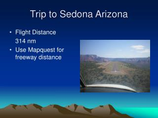 Trip to Sedona Arizona