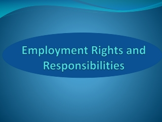Rights of employers and employees