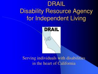 DRAIL  Disability Resource Agency for Independent Living
