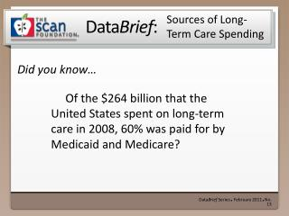 Sources of Long-Term Care Spending
