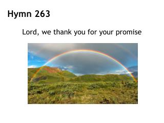 Lord, we thank you for your promise