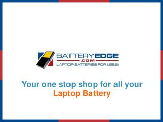 BatteryEdge.com - Laptop Batteries & Accessories for Less
