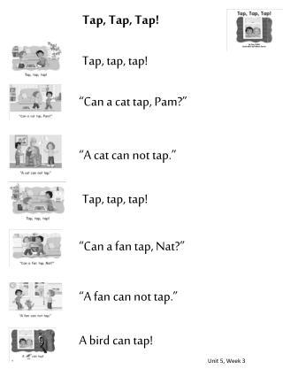 Tap, Tap, Tap!