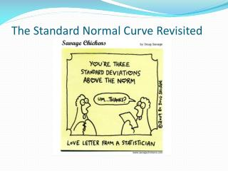 The Standard Normal Curve Revisited
