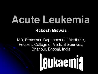 Acute Leukemia