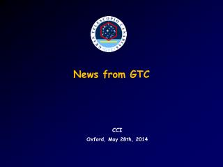 News from GTC