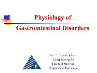 Physiology of Gastrointestinal Disorders