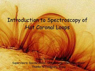 Introduction to Spectroscopy of Hot Coronal Loops