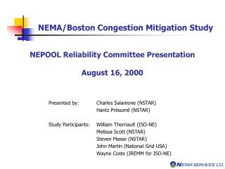 NEMA/Boston Congestion Mitigation Study