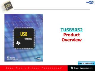 TUSB5052 Product Overview