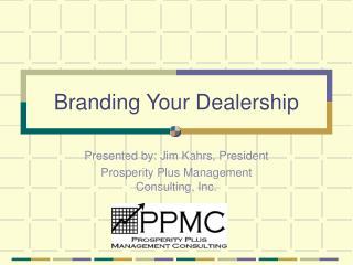 Branding Your Dealership