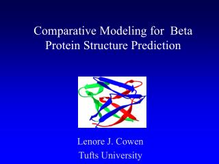 Comparative Modeling for  Beta Protein Structure Prediction