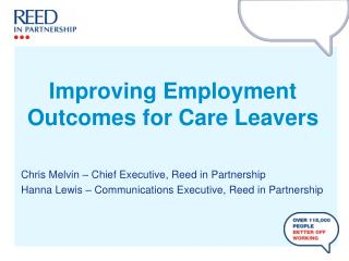 Improving Employment Outcomes for Care Leavers