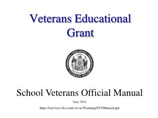 Veterans Educational Grant