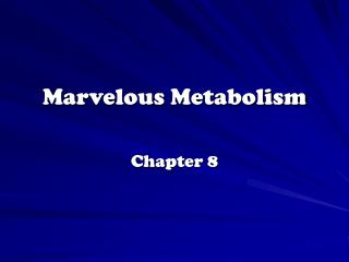 Marvelous Metabolism
