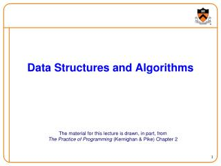 Data Structures and Algorithms
