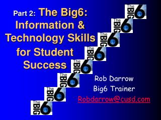 Part 2:  The Big6: Information & Technology Skills