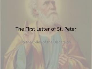 The First Letter of St. Peter