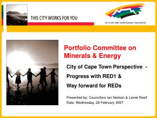 Portfolio Committee on Minerals & Energy