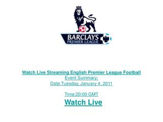 Watch Manchester United vs Stoke City Live Streaming TV Link